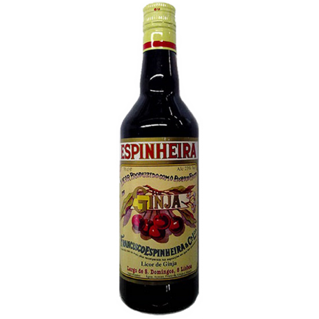 Sour Cherry Liqueur Espinheira With Fruit 70 CL