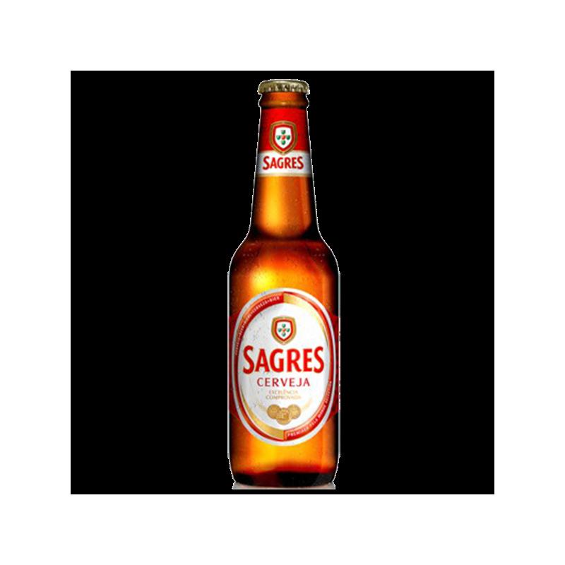 Beer Sagres Bottle 33cl