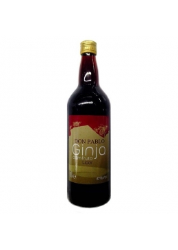 Sour Cherry Liqueur Don Pablo With Fruit
