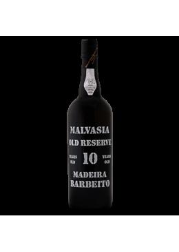Vinho da Madeira Barbeito Malvasia 10 Anos