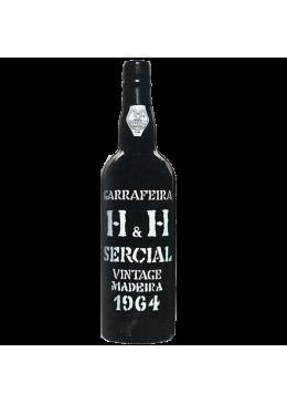 Madeira Wine H & H Sercial Vintage 1964