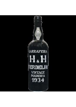 Madeira Wine H & H Verdelho Vintage 1934