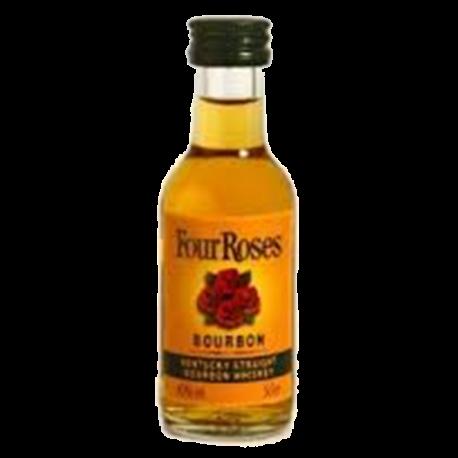 Miniatura Four Roses Bourbon-WHISKY AMÉRICA