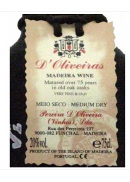 Madeira Wine D'Oliveiras...