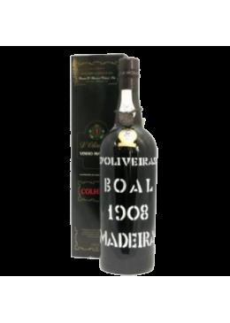 Madeira Wine D'Oliveiras Medium Sweet Reserve Boal 1908