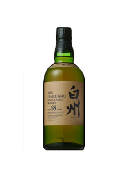 Whisky Suntory Hakushu 18 Anos