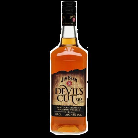Whisky Bourbon Jim Beam Devils Cut-WHISKY AMÉRICA