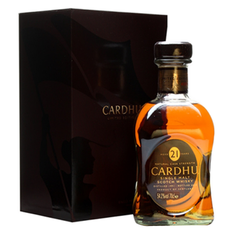 Whisky Cardhu 21 Years Old