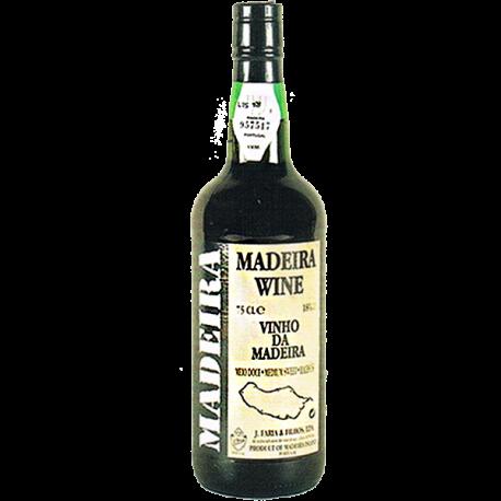 Vinho da Madeira J. Faria & Filhos 3 Anos Meio Doce-MADEIRA SELECIONADO