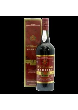 Vinho da Madeira D'Oliveiras Meio Doce 15 Anos
