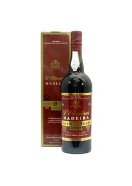 Madeira Wine D'Oliveiras Sweet 15 Years Old