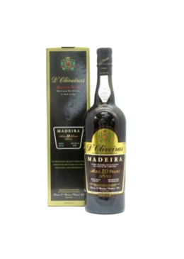 Madeira Wine D'Oliveiras Medium Dry 10 Years Old