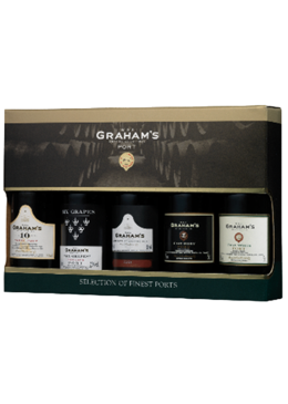 Vinho do Porto Graham's Miniatura Mini Selection Pack 5 Portos