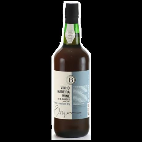Vinho da Madeira H.M.Borges Meio Seco 3 Anos-MADEIRA SELECIONADO