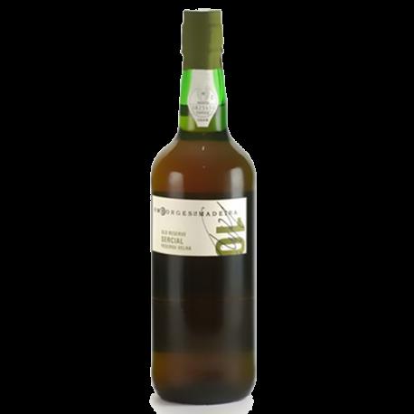 Vinho da Madeira Sercial H.M.Borges 10 Anos-MADEIRA 10 ANOS