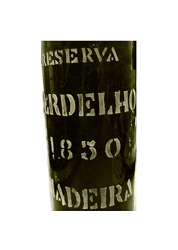 Madeira Wine D'Oliveiras Medium Dry Reserve Verdelho 1850