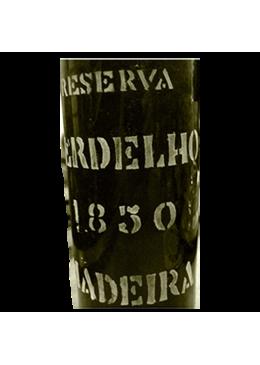 Vinho da Madeira D'Oliveiras Reserva Verdelho Meio Seco 1850