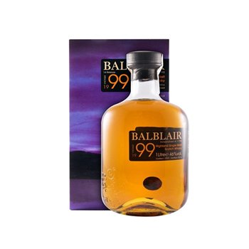 Whisky Malte Balblair Vintage 1999