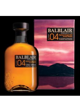 Whisky Malte Balblair Vintage 2004