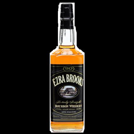 Whisky Bourbon Ezra Brooks Black Label-WHISKY AMÉRICA