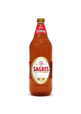 Cerveja Sagres Litrosa