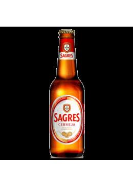 Cerveja Sagres Garrafa 33CL
