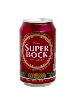 Beer Super Bock Can 33CL