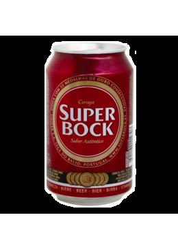 Cerveja Super Bock Lata 33CL