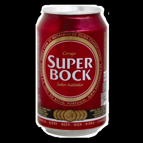 Cerveja Super Bock Lata-PILSNER