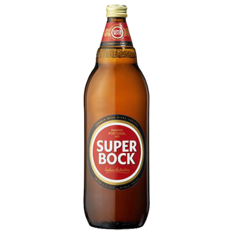 Cerveja Super Bock Garrafa-PILSNER