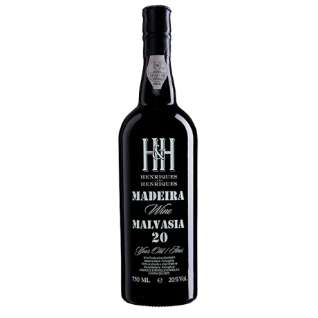 Madeira Wine Henriques & Henriques Malvasia 20 Years Old-20 YEARS OLD MADEIRA