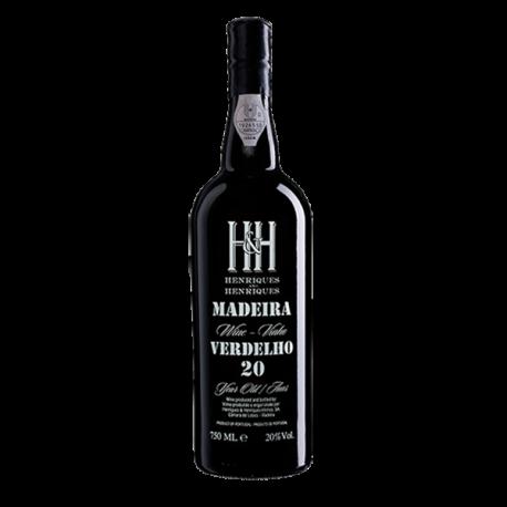 Vinho da Madeira Henriques & Henriques Verdelho 20 Anos-MADEIRA 20 ANOS