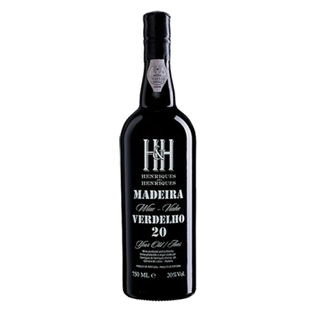 Madeira Wine Henriques & Henriques Verdelho 20 Years Old-20 YEARS OLD MADEIRA