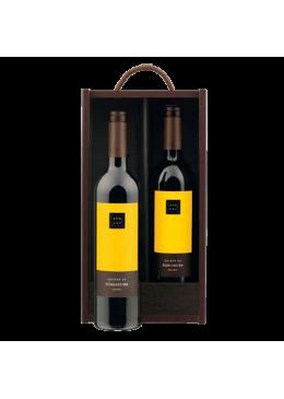 Pack de Natal 2 Garrafas Vinho Douro Quinta Soalheira Tinto