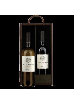 Pack de Natal Vinho Duas Quintas Tinto + Branco
