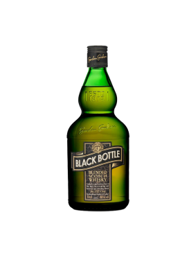 Whisky Black Bottle