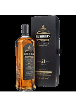 Whisky Old Bushmills Malte 21 Anos com Estojo 2014