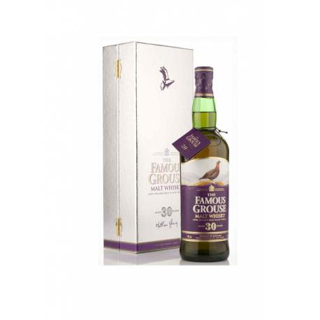 Whisky Malte Famous Grouse 30 Anos Caixa Branca-MALTE