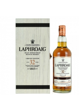 Whisky Laphroaig 32 anos Aniversário