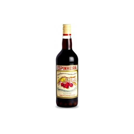 Cherry Liqueur Espinheira With Fruit 100 Cl