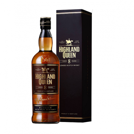 Whisky Highland Queen 8 Years Old