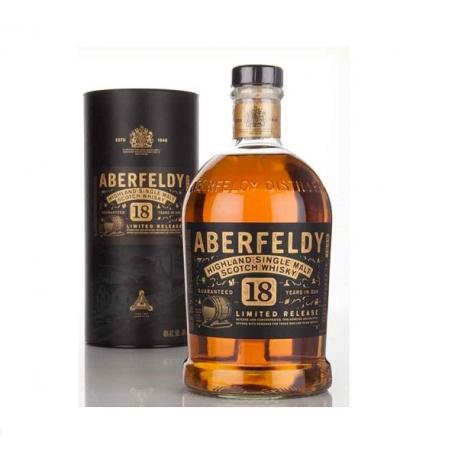Whisky Malte Aberfeldy 18 Anos