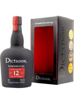 Dictador 12 Years Old Solera System Rum - vol.40% - 70cl