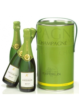 Champagne Esterlin Tri-Pack - 3 x 375ml