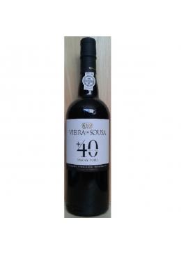 Vinho do Porto Vieira de Sousa Tawny 40 Anos