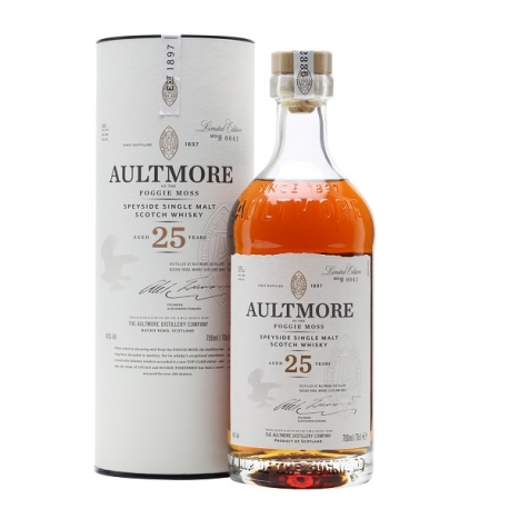 Whisky Malte Aultmore Foggie Moss 25 Anos