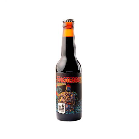 Beer Finisterra Imperial Porter 33CL