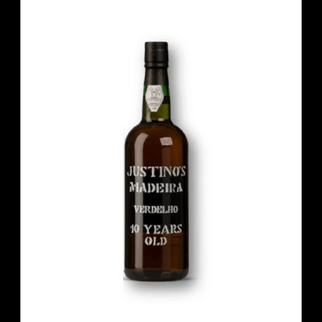 Vinho da Madeira Justino's Verdelho 10 Anos-GENEROSOS