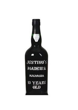 Vinho da Madeira Justino's Malvasia 10 Anos