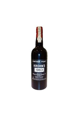 Port Wine Krohn Vintage 1963